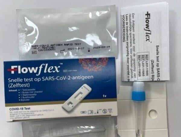 acon flow flex corona sneltest contain